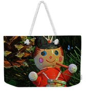 Little Drummer Boy Ornament Weekender Tote Bag