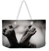 Little Feet Weekender Tote Bag