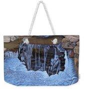 Little Frozen Waterfall Weekender Tote Bag