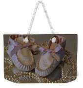 Little Girls To Pearls Weekender Tote Bag