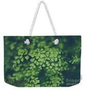 Little Green Leaves Weekender Tote Bag