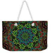 Little Green Men Kaleidoscope Weekender Tote Bag