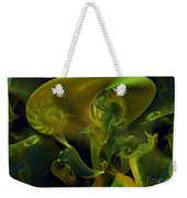 Little Green Seahorse  Weekender Tote Bag