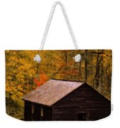 Little Greenbrier Schoolhouse In Autumn  Weekender Tote Bag