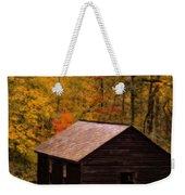 Little Greenbrier Schoolhouse In Autumn  Weekender Tote Bag