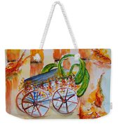 Little Harvest Wagon Weekender Tote Bag
