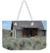 Little House In The Sage Weekender Tote Bag