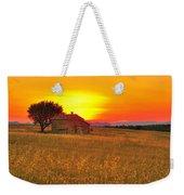 Little House On The Prairie Weekender Tote Bag