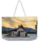 Little House On The Prairie Weekender Tote Bag