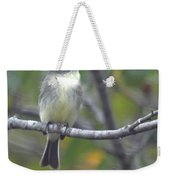 Little Lady Eastern Kingbird Weekender Tote Bag