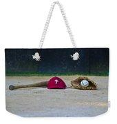 Little League Dreams Weekender Tote Bag by Bill Cannon