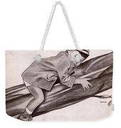 Little Man Youve Had A Busy Day Weekender Tote Bag