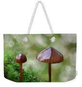 Little Mushroom Reflections Weekender Tote Bag