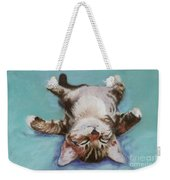 Little Napper  Weekender Tote Bag by Pat Saunders-White