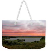Little Pond Near The Ocean Panorama Weekender Tote Bag