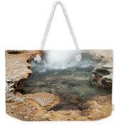 Little Pool Geyser At Black Sands Geyser Basin Weekender Tote Bag