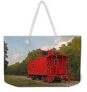 Little Red Caboose Weekender Tote Bag