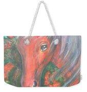 Little Red Horse Weekender Tote Bag