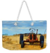 Little Red Tractor 4 Weekender Tote Bag