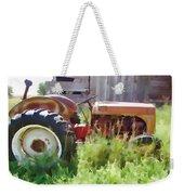 Little Red Tractor Weekender Tote Bag