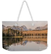 Little Redfish Lake Reflections Weekender Tote Bag