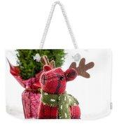 Little Reindeer Christmas Card Weekender Tote Bag