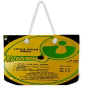 Little River Band It's A Long Way There Side 1 Weekender Tote Bag