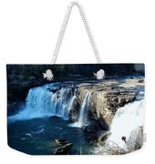 Little River Falls Weekender Tote Bag