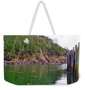 Little River In Digby Neck-ns Weekender Tote Bag