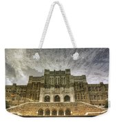 Little Rock Central High Reflecting Upon The Past Weekender Tote Bag by Jason Politte
