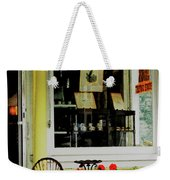 Little Rocking Chair By Antique Store Weekender Tote Bag
