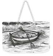 Little Rowing Boat Weekender Tote Bag