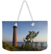 Little Sable Lighthouse By The Shore Weekender Tote Bag