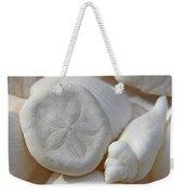 Little Sand Dollar And Seashells Weekender Tote Bag