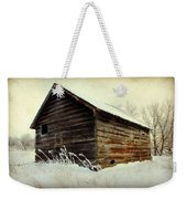 Little Shed Weekender Tote Bag by Julie Hamilton