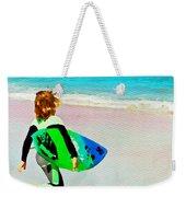 Little Surfer Dude Weekender Tote Bag