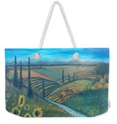 Little Tuscany Weekender Tote Bag