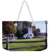 Little Village Chapel Of The Immanuel Lutheran Church Weekender Tote Bag
