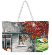 Little West Indian House 1 Weekender Tote Bag