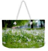 Little White Flowers II Weekender Tote Bag