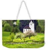 Little White German Church Weekender Tote Bag
