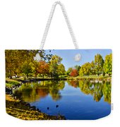 Littleton Pond 1 Weekender Tote Bag