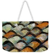 Littoral Roof Tiles Weekender Tote Bag