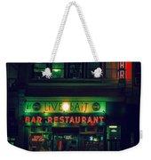 Live Bait Weekender Tote Bag
