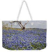 Live Bluebonnets And Dead Tree Weekender Tote Bag