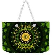 Live Green 1 Weekender Tote Bag