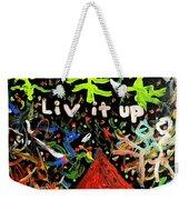 Live It Up Weekender Tote Bag