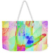 Live Long And Prosper 20150302v1 Color Squares Sq Weekender Tote Bag