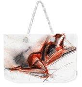 Live Model Study 3 Weekender Tote Bag