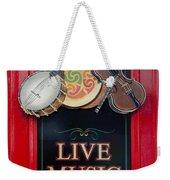 Live Music Daily Weekender Tote Bag